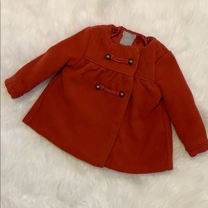☀️SUMMER CLEARANCE☀️ Tahari Baby Red Peacoat!